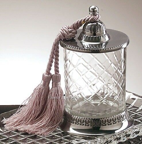 Candle Jar W/ Tassel (No Candle)