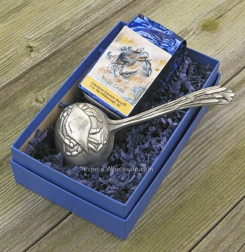 Crab Coffee Scoop Gift Set