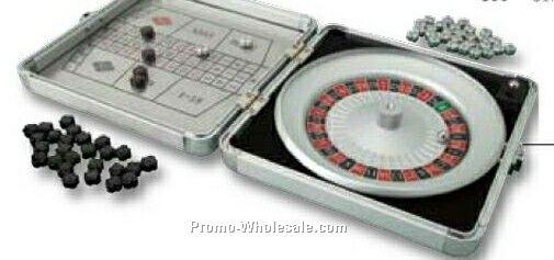 "Essentials Fortuna Travel Roulette Set 6-1/4""x6-1/2"""