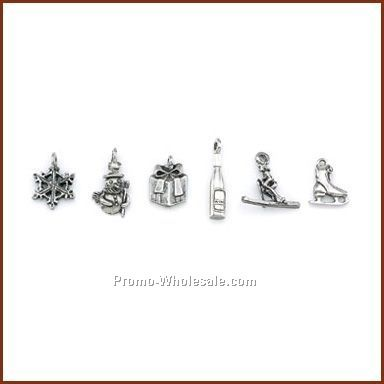 Individual Winter Stock Wine Charms