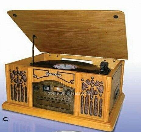 Jensen Nostalgic Wooden Music System