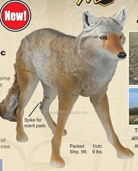 Masters Series Lone Howler Coyote Decoy