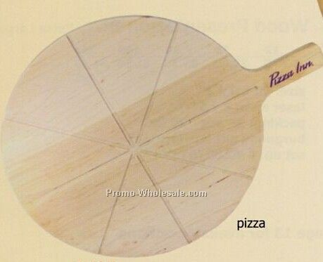 Pizza Template Wood Cutting Board