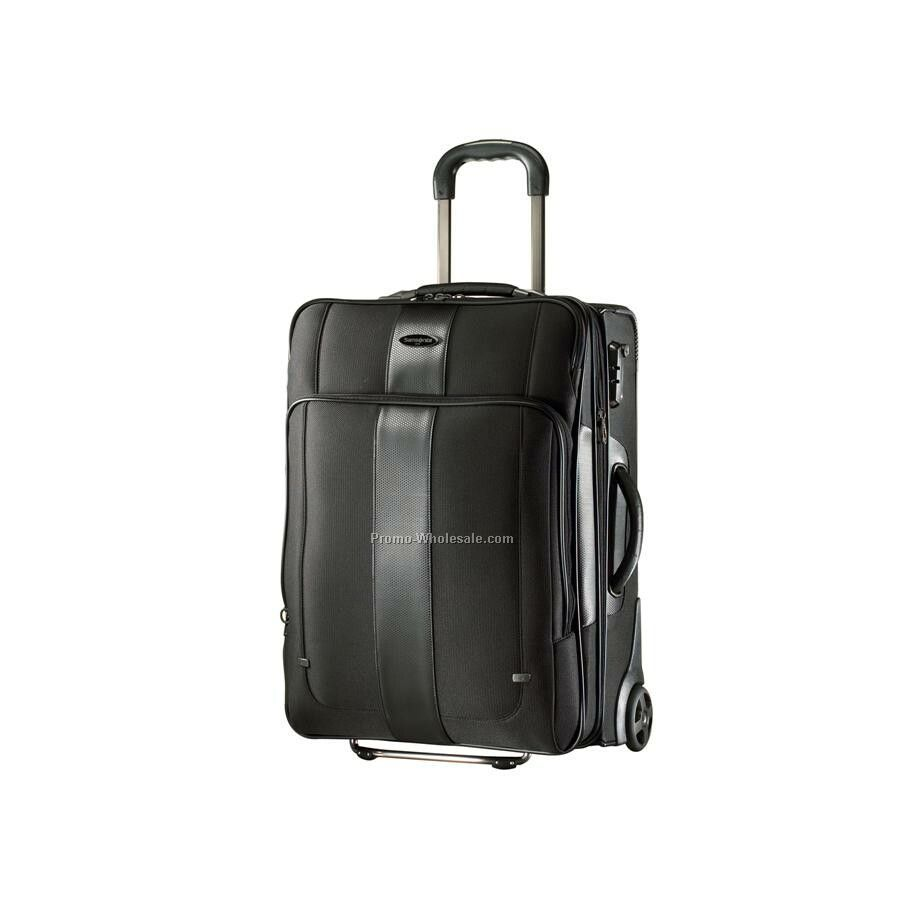 "Samsonite Quadrion 22"" Exp. Upright Luggage"