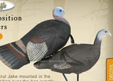 Turkey Decoy - Tru Position Breeders W/ Stake