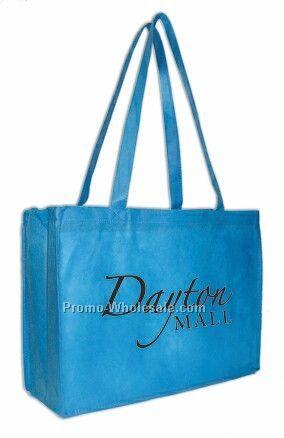 "12""x16""x6"" Printed Non Woven Tote Bag"