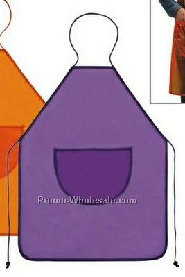 "26-1/2""x34"" Perfect Fit Colored Pvc Apron"