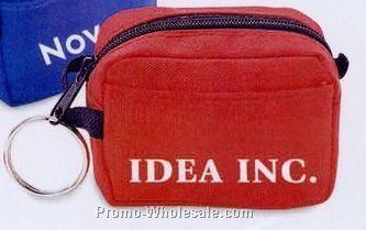 "3""x2-1/2""x1-1/2"" Miniature Travel Bag Coin Holder"