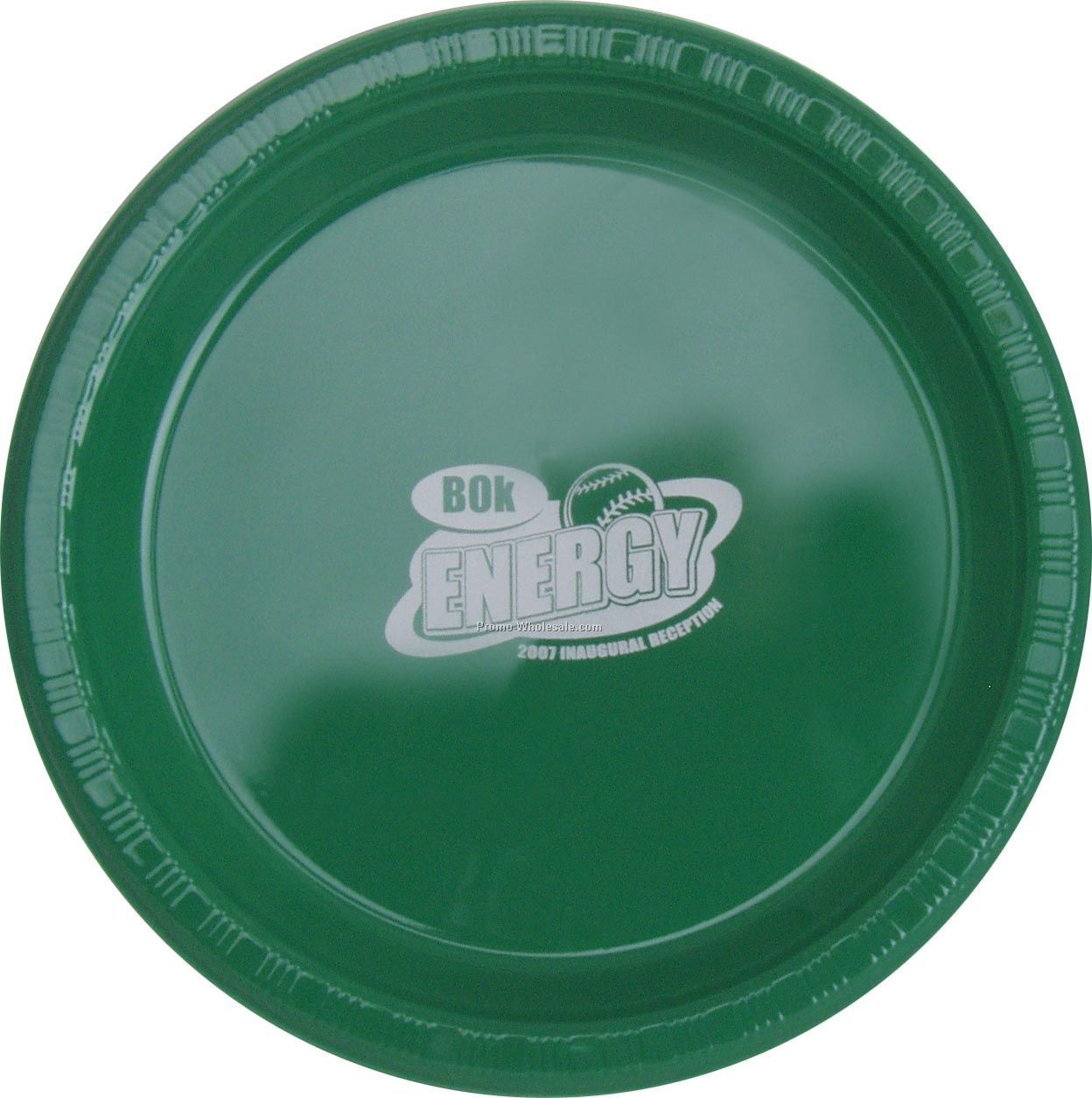 "9"" Emerald Green Colorware Paper Plate"