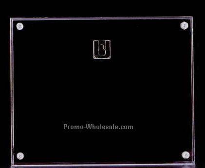 "Acrylic Award/ Sandwich Frame (9""x12"") Vertical (N/S)"