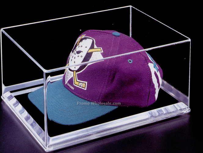 Acrylic Cap Display Case W/ Mirror