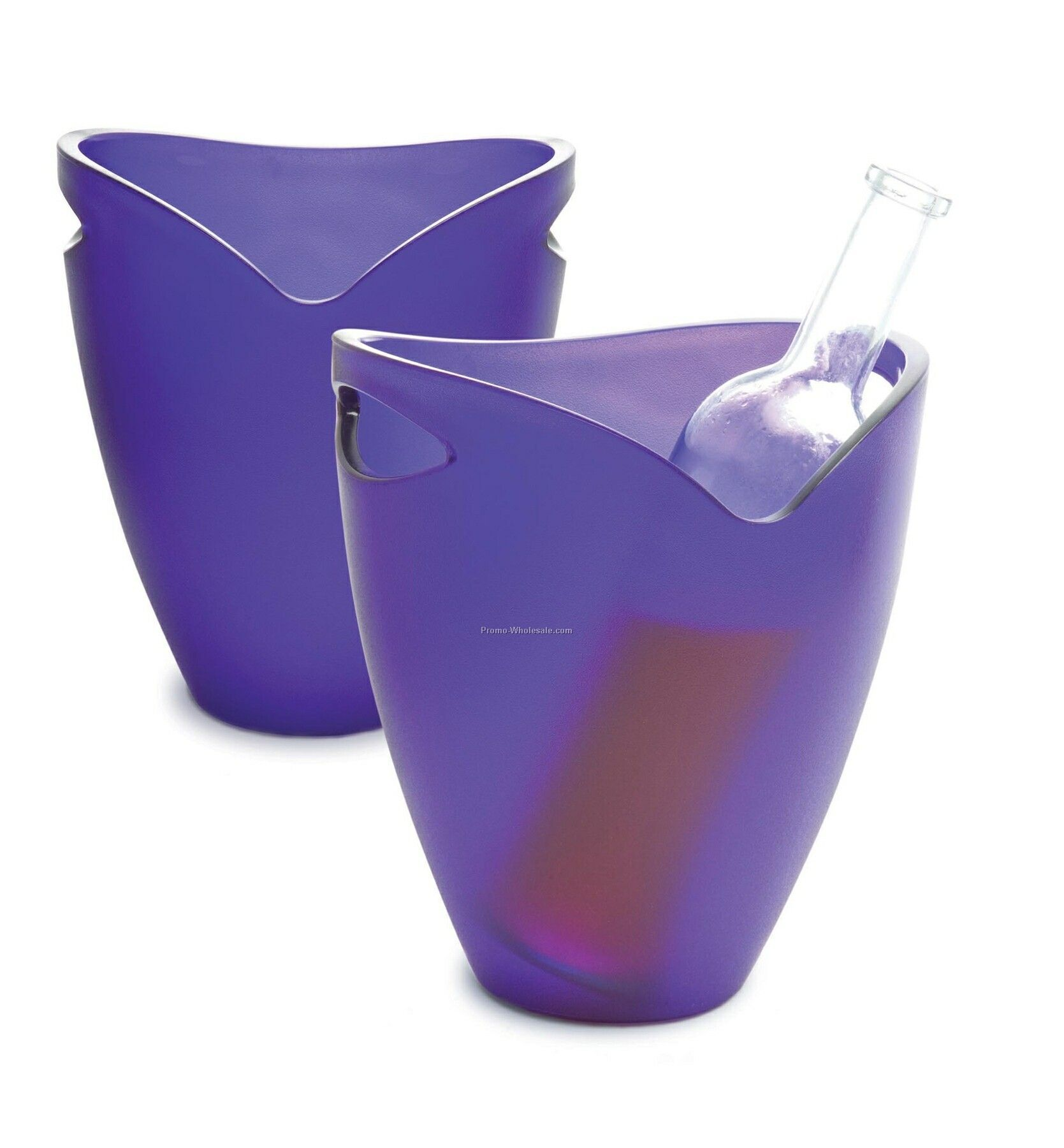 Acrylic Ice Bucket - Blue