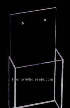 "Acrylic Wall Mounting Holder/ Rack (4-1/2""x8-3/4""x2-1/4"")"