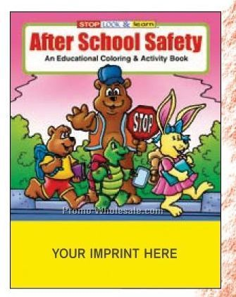 After School Safety Coloring Book
