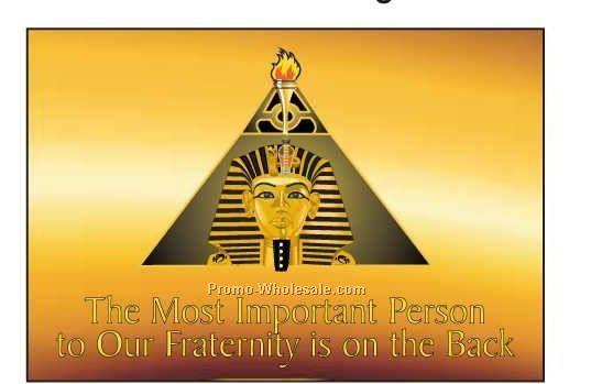 "Alpha Phi Alpha Fraternity Pyramid Photo Hand Mirror (3-1/8""x2-1/8"")"