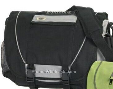 Black Fashion Soft Sided Briefcase Printed