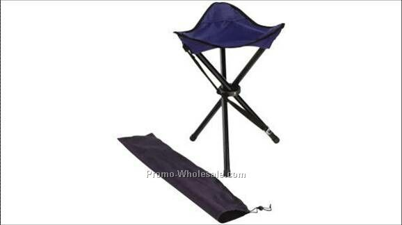 Folding Tripod Stool With Carry Bag