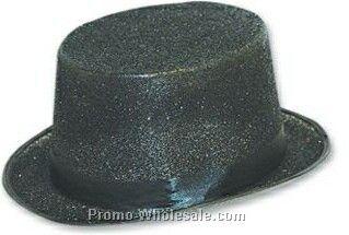 Green Sequin Top Hats