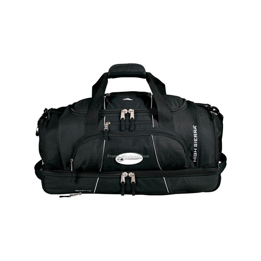 High Sierra Colossus Drop Bottom Duffel Bag