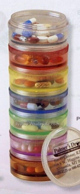 Large Stackable Pill Reminder