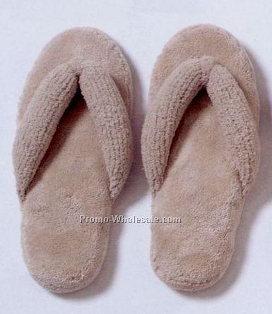 Micro Chenille Flip Flops - S (5-6) M (7-8) L (9-10)
