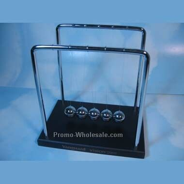 Newton's Cradle W/ Black Base