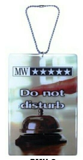 Rear View Mirror / Door Hanger (Up To 2 Sq Inch Dome Double Sided)