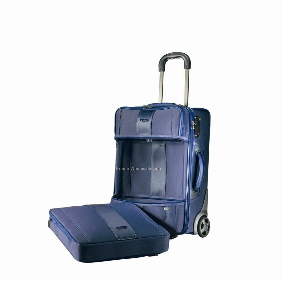 "Samsonite Quadrion 20"" Upright Luggage"