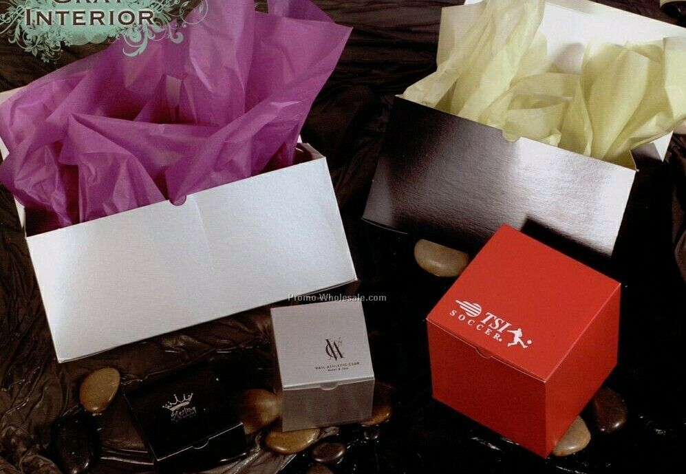 Silver Gloss Gift Boxes