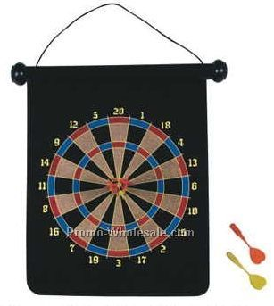 Single Sided Dart Board Set