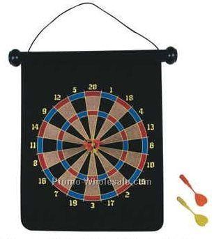 Single Sided Dart Board Set