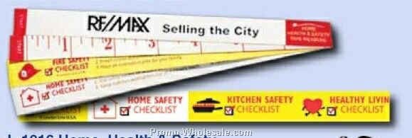 Stock Theme Home/ Health And Safety Tape Measure - Automatic Press