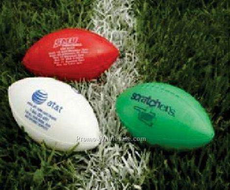 """Striped Plastic Football - 6"""" Mini"""