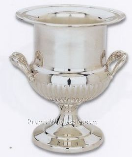 The Queen Anne Collection Silverplated Wine Cooler W/ Liner