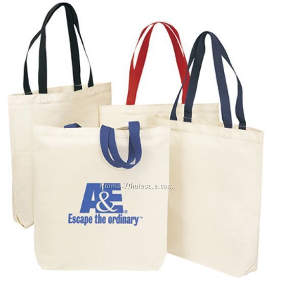 Two-tone Economy Tote Bag