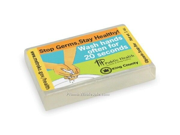 1 Oz. Clear Glycerin Bar Soap