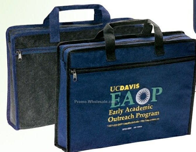 150g Non Woven Business Bag W/ Large Interior Pocket