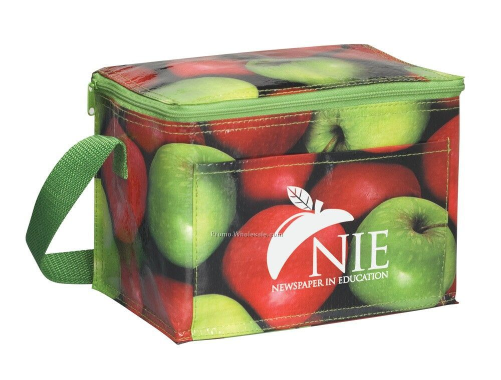 "8""x6""x5.5"" Photografx Fruity 6 Pack Cooler"