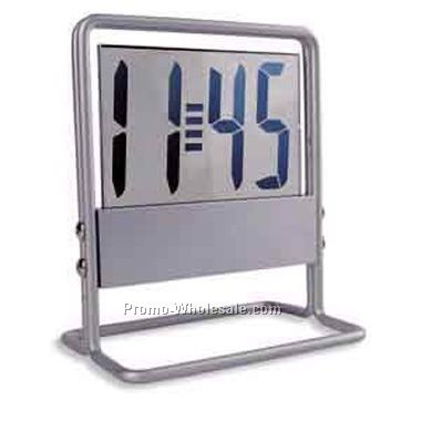 Aluminum Frame Lcd Digital Clock