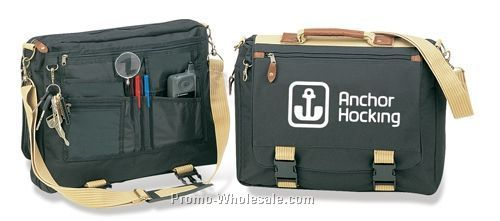 Apache Khaki Briefcase