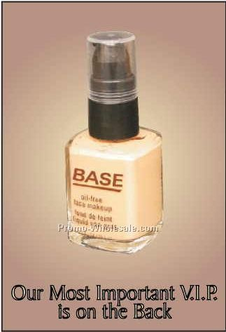 "Base Foundation Rectangle Photo Hand Mirror (2-1/2""x3-1/2"")"