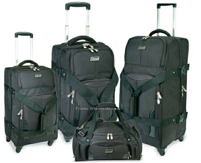 Coleman Globe Tracker 4 Piece Set Luggage