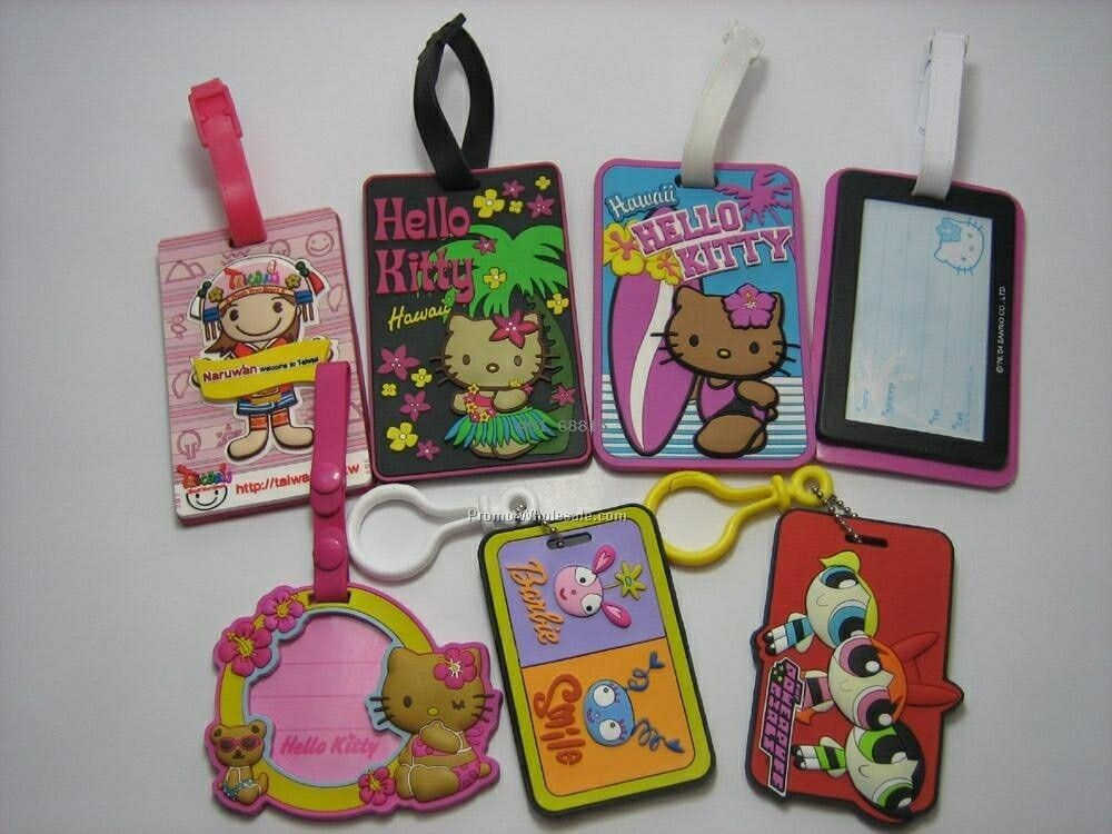 Funky Soft Luggage Tag