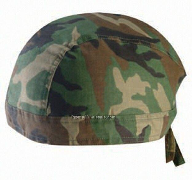 Kerchief Bandanna Cap (Camouflage)