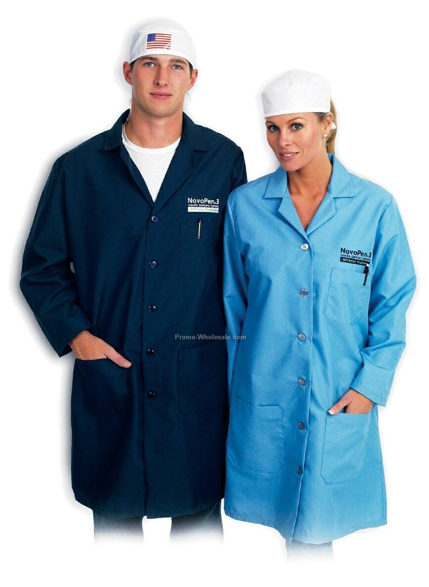 Men's Lab Coat (Colors)