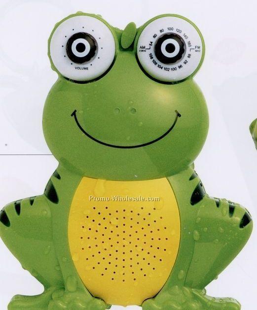 Minya AM/FM Frog Shower Radio