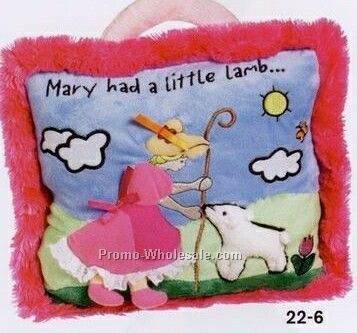 Nursery Rhyme Pillows - Mary Had A Little Lamb
