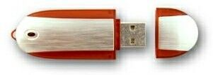 Oblong W/ Side Trim Flash Drives