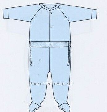 Original Zip Leg Sleeper/ Pajamas (18 Month-24 Month)
