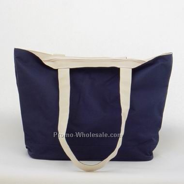Polyester Tote Bag W/ Easy Care Fabric